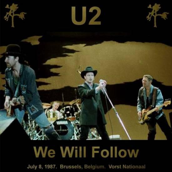 U2start com | Bootleg of the month October 2008: 1987-07-08