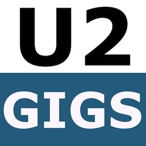 U2gigs.com podcast